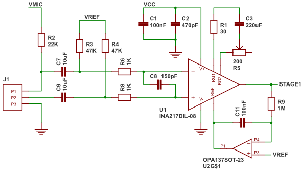 Microphone Preamplifier - The Lab Book Pages