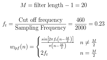 FIR Filters by Windowing - The Lab Book Pages
